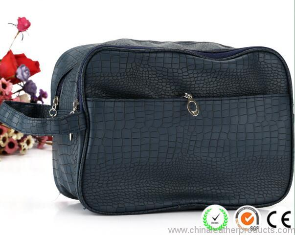 crocodile-pattern-plain-black-pu-men-cosmetic-bags-03
