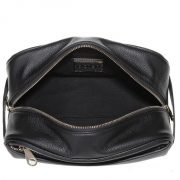 men-pu-leather-plain-black-cosmetic-bag-with-handle-03